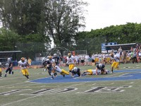 Varsity Football Team Faces Heartbreaking Loss To Rival Belen