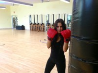 The power in the kick: student takes on kick boxing