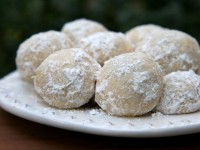 Sugared Almond Cookies