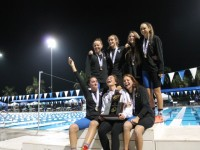 Gulliver Girls Swimming take home the State Championship title