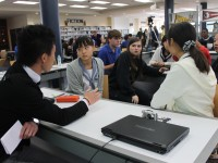 Japanese Exchange Students Participate in U.S.-Japan Treaty Simulation