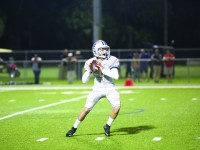 Quaterback Harrison Easton leads the football team into the 2015 season