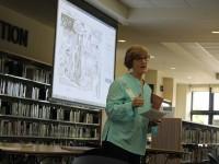 Journalist and Author Patty Shillington Visits Prep Students