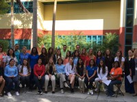 Biomedical Students Visit Nicklaus Children's Hospital