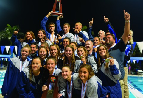 Swim Teams Sweep State Titles