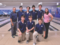 Boys' Bowling Team Shows Improvement Throughout Season